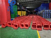厂家直供120L分类挂车塑料垃圾桶