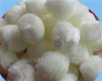 白色纤维球