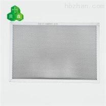 贝森斜孔铝蜂窝芯基材光触媒高效催化过滤网