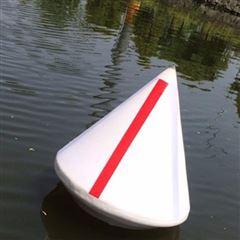 桥区夜间警戒塑料航标浮筒
