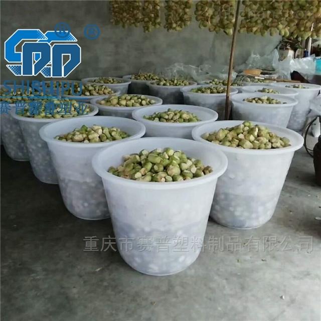 大口PE塑料圆桶 酱菜桶800L酿酒桶