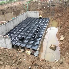 装配式复合消防水箱 箱泵一体化