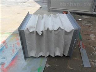 耐磨除尘伸缩式帆布通风软连接
