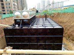 地埋式箱泵一体化消防水箱管道布置
