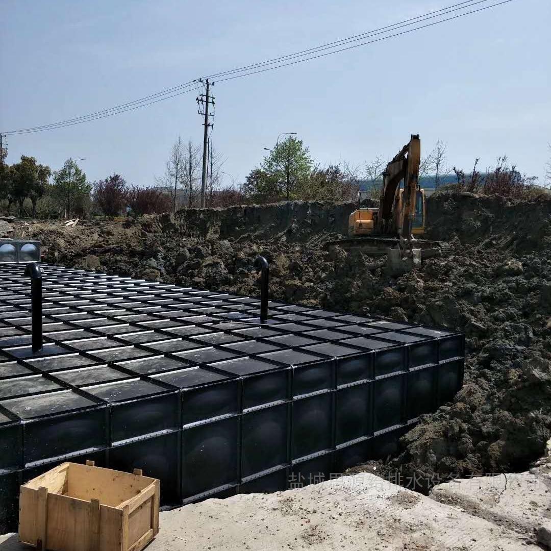 定制有预埋管件的地埋式箱泵一体化