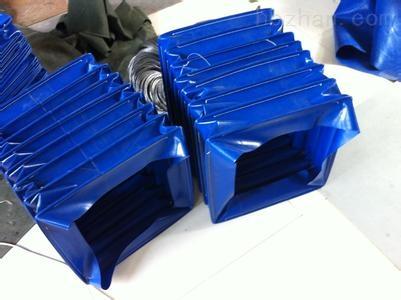 矩形硅胶布通风耐磨软连接