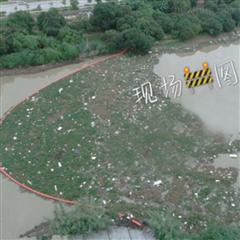 取水口拦污网浮子 垃圾拦截浮筒