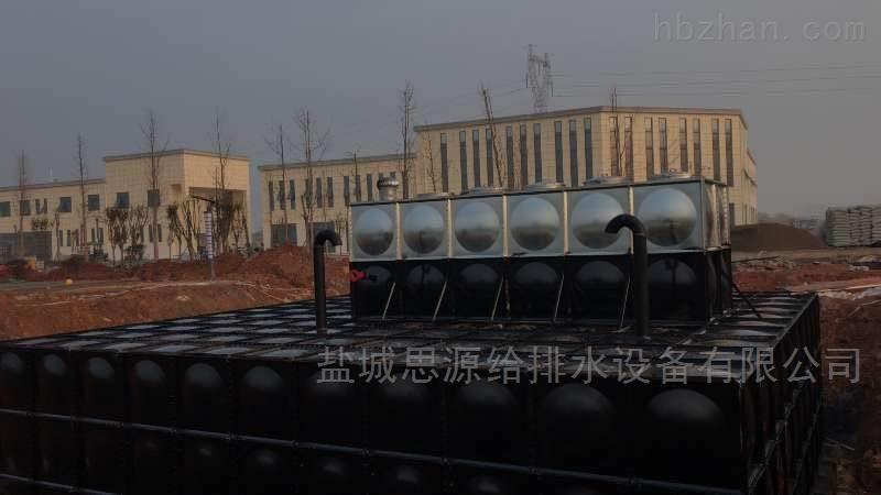 地埋式箱泵一体化消防泵站的特征