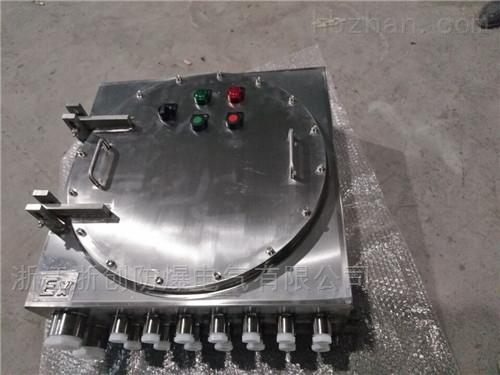 316材质不锈钢防爆接线端子箱型号规格