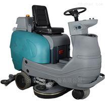 学校操场塑胶跑道用消毒清洗电动洗地机