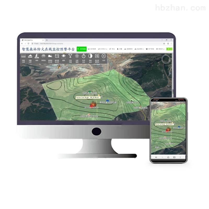 森林火险气象在线监控预警系统