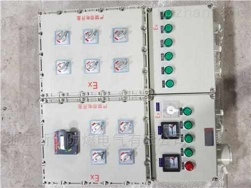 现场防爆事故风机控制按钮箱