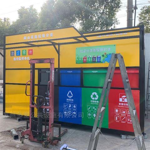 常熟环保分类垃圾房供应商
