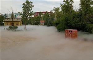 高壓噴霧降溫系統