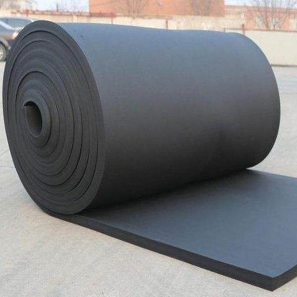 可定制阻燃橡塑保温棉 保温胶水 压延膜生产厂家