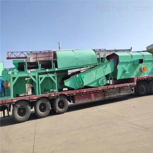 蓝基建筑垃圾处理生产线设备再次发往北京