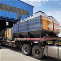 喷漆房废气处理一万风量催化燃烧设备
