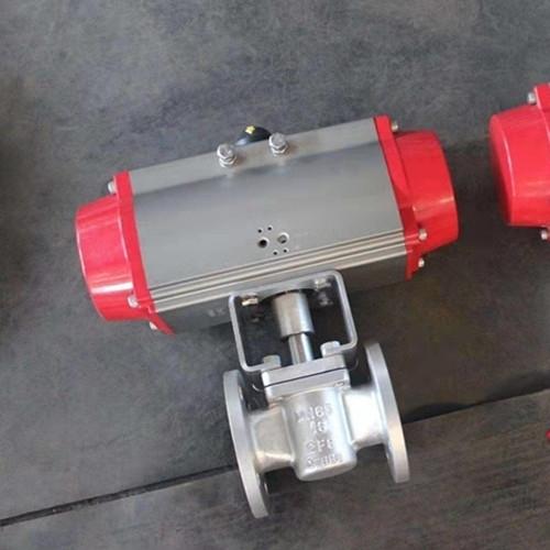 气动偏心旋塞阀PLVG-10
