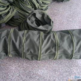 吊环式耐磨帆布散装机伸缩布袋