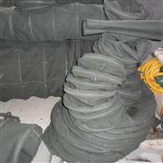 一端封闭一端系绳式帆布水泥布袋