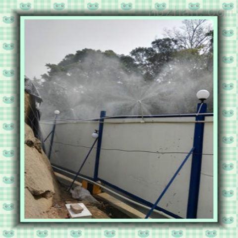 泉州安溪工厂除尘降温雾化系统