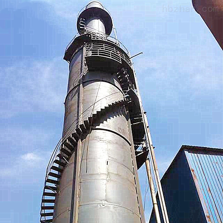 环振新款窑炉烟气净化脱硫塔现货安装