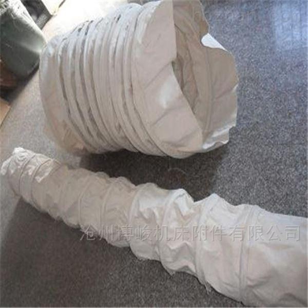 加工生产优质帆布防尘卸料耐磨伸缩布袋