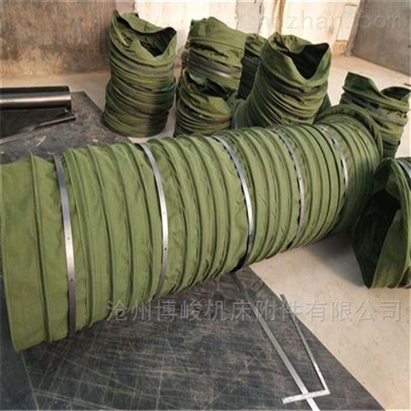 煤灰颗粒卸料帆布输送伸缩布袋型号