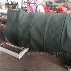 散装机输送帆布伸缩袋厂家制造