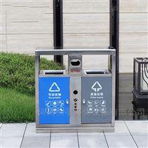 山西戶外分類不銹鋼垃圾桶制造廠家