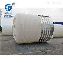 40吨塑料水塔厂家  大型防腐化工储罐