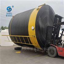 20吨塑料水箱 中水水罐 20吨pe水处理原水箱