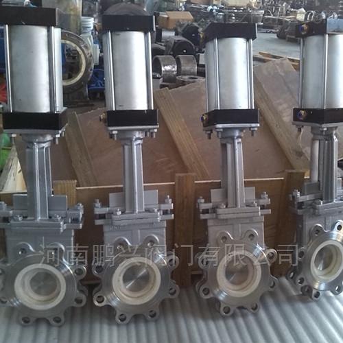 气动陶瓷排渣浆液阀