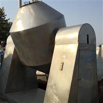 二手2立方不锈钢双锥真空干燥机