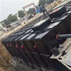 10×5×3抗浮地埋式箱泵一体化消防增压泵站