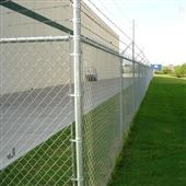 农业科技园景观浸塑钢丝网围栏