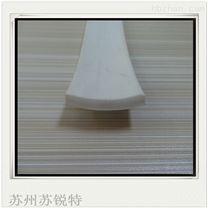 白色硅胶平板发泡防尘密封条