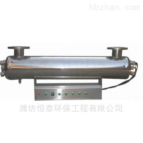 管道式紫外线消毒器的安装调试
