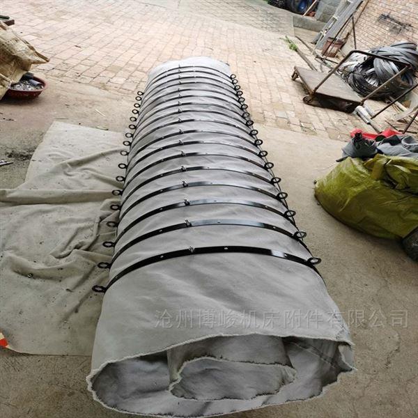 德州帆布除尘伸缩布袋生产厂家
