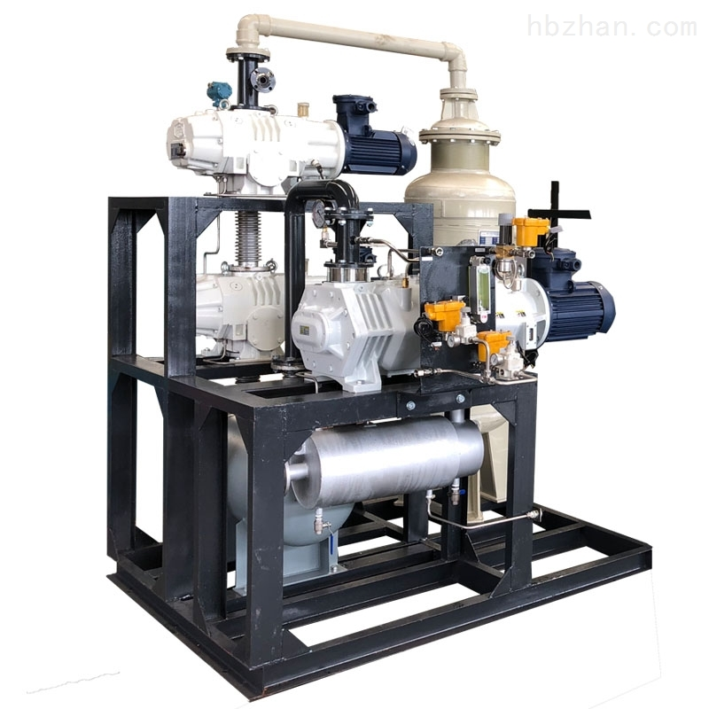 SVPB干式罗茨螺杆真空泵机组