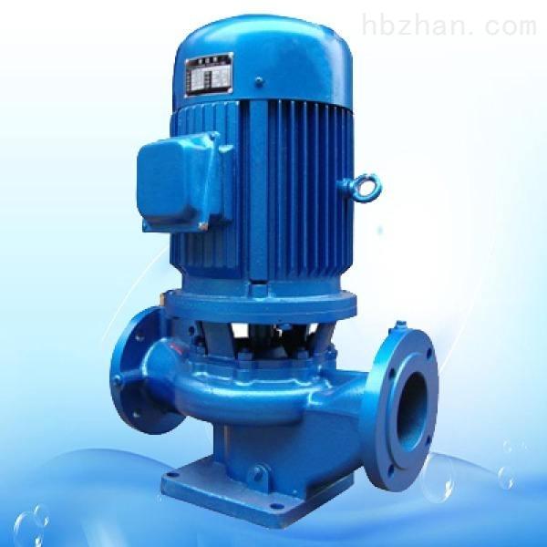 管道式污水防爆水泵