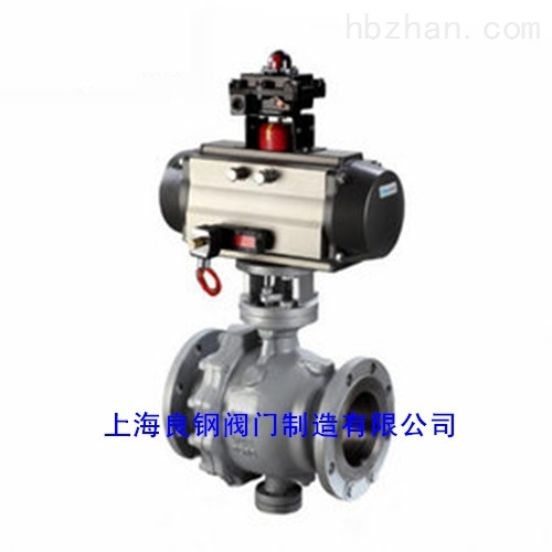 Q647F/Q647H气动固定式球阀