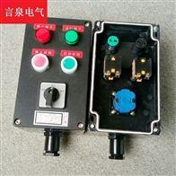 FZC-S-A2D2K1G三防操作柱全塑防水防尘防腐现场壁挂控制箱
