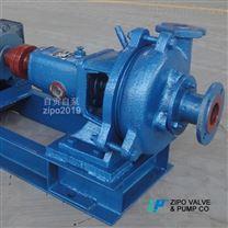 自贡自泵水泵厂3PN卧式耐磨泥浆泵