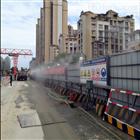 成都市金牛區地鐵施工圍欄噴淋系統