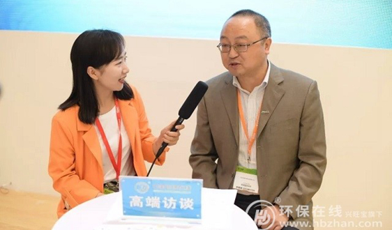 泷涛环境董事长潘涛:技术创新是未来主流