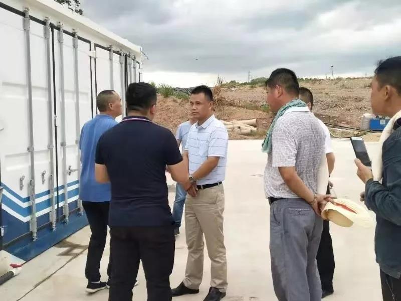 项目视察丨湖北省建设厅各级领导莅临上拓环境麻城项目现场参观指导