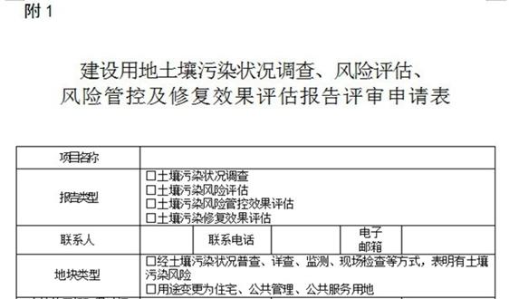 覆盖评审总过程 建筑用地土壤污染报告指南出台