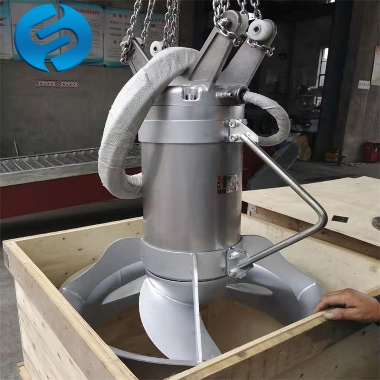 潜水搅拌机的装配与安装