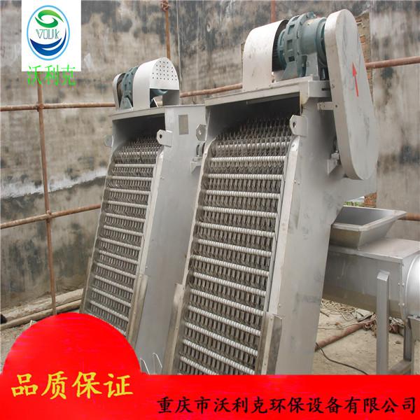 耙齿机械格栅厂家直销 不锈钢回转式机械格栅 污水处理机械格栅